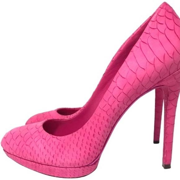 07e0af22163 Brian Atwood Pink Frederique Pumps